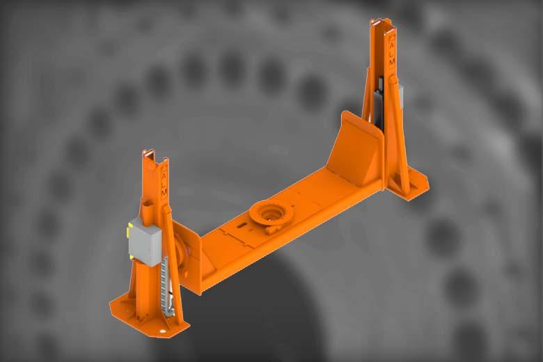 25 K Elevating Headstock & Tailstock/Drop Center