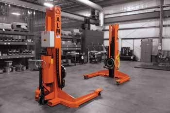 15 K Elevating Portable Headstock & Tailstock