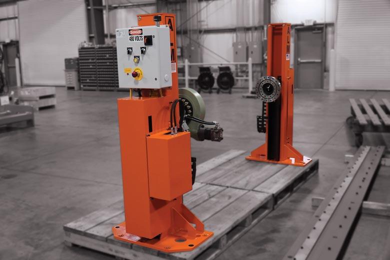 4 K Elevating Headstock & Tailstock