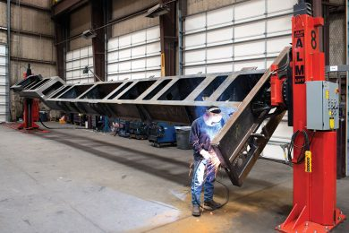 Welding Positioners Increase Throughput