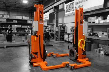 8 K Elevating Portable Headstock & Tailstock