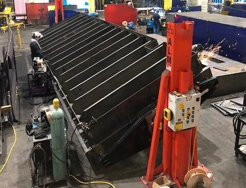 Acoustical Sheetmetal Company: Limited Space and Overhead Crane Constraints
